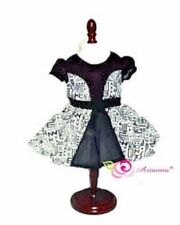 "Doll Clothes AG 18"" Dress Black White Tribal Arianna Fits American Girl Doll"