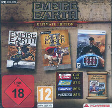 Empire Earth Ultimate Edition, 1, 2 + 3 inkl. Add-Ons PC-Spiel das Paket
