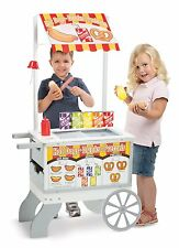 NEW Child Size FOOD CONCESSION STAND Pretend Play Toy Cart Grocery Ages 3-7 Yrs