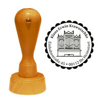 Stempel « KIRCHENORGEL » Adressenstempel Motivstempel Adresse Pastor Pfarrer