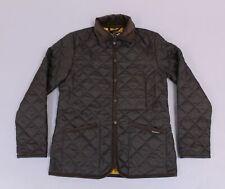 Lavenham Men's Raydon Quilted Slim Fit Jacket AB3 Dark Chocolate Size XS/34 NWT