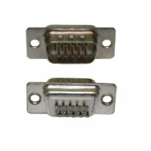 HD15 D Sub Male Solder Type Connector  (15 Pin)