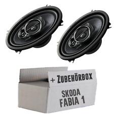 Skoda Fabia 1 6Y Familiar Trasero - Pioneer 4x6er Cajas de Altavoces Coche - Kit