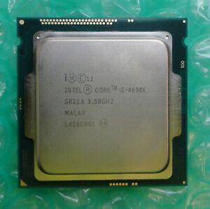 Intel i5 Quad Core Processor i5-4690K SR21A 3.50GHz 6M Socket 1150 Processor CPU
