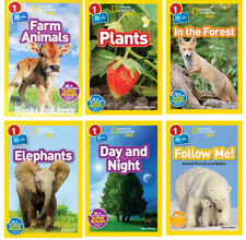 National Geographic Co-Readers Level 1 Farm Animals,In the Forest+6 Paperbacks