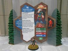 Heroscape Custom Detective Chimp Double Sided Card & Figure w/ Sleeve DC