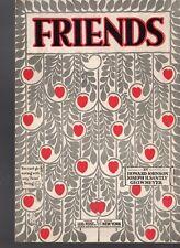 Friends Sheet Music 1919 RS Rose Symbol