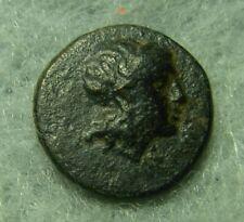 Mysia, Gambion, AE 10, 300-100 BC, Apollo / Tripod, VF