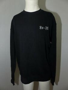 Neuer CANT-DECI Sweat Shirt Lo-Fi Pullover Pulli Gr XL Schwarz