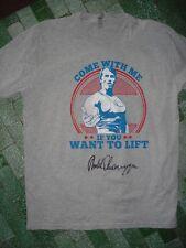 Arnold Schwarzenegger signed t-shirt