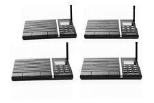 Samcom 10-Channel Digital FM Home Office Wireless Intercom System 4-Station FAST