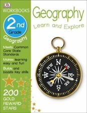 DK Workbooks 2nd Grade: Geography c2015 NEW Paperback, We Combine Shipping