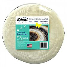 Bosal Katahdin Batting On A Roll-2.5 inches wide by 50 yds-For Jelly Roll Rugs