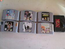 N64 Lot of 6 Games + GameShark -- Nintendo 64.