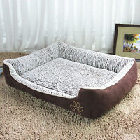 New Dog Bed Soft Pet Mat Puppy House Cushion Kennel Cat Nesting Bed