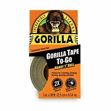 New listing Black Gorilla Duct Tape Handy Roll All Weather Waterproof Adhesive Camping Usa