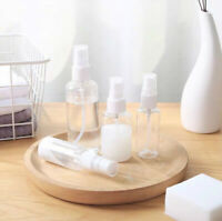 15/50/75mL Travel Transparent Perfume Plastic Atomizer Empty Spray Bottle 5PCS