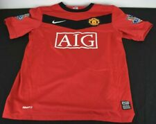 Child's Manchester United Nike Home Shirt 2009/10 Ages 10-12 (M)