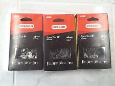 "3 Oregon 16"" chainsaw chain 95TXL066G narrow kerf .325 .050 66 DL G66  H30-66"