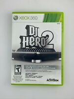 DJ Hero 2 - Xbox 360 Game - Complete & Tested