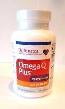Dr. Sinatra Omega Q Plus w/ Resveratrol + Turmeric 60 Softgels exp 07-2019