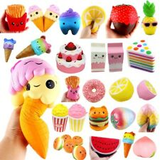 Jumbo Slow Rising Squishies Scented Charms Kawaii Squishy Squeeze Toys Gifts AU