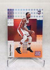 2017/18 Bam Adebayo Panini Status Orange SP Parallel Rookie #132 Miami Heat