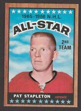 1966-67  TOPPS  # 129  PAT STAPLETON  AS  NRMT   INV M928