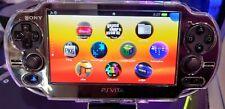Black PS Vita Playstation Vita OLED 256GB 3.65FW Henkaku Enso [PSP,PS1,Retro]
