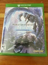 Monster Hunter World: Iceborne Master Edition - Xbox One - Mint Condition!