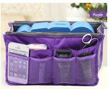 Hot Travel Cosmetic Makeup Toiletry Wash Organizer Storage Hanging Bag purple #3