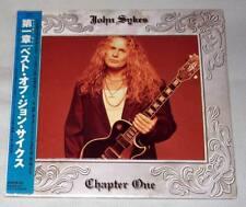 John Sykes - Chapter One / JAPAN MINI LP CD (1998) NEW / Blue Murder Whitesnake