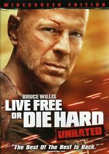 Live Free or Die Hard [WS] [Unrated] (2009, DVD NEW) WS