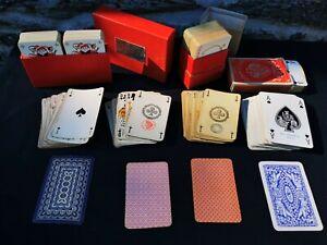 jeu de cartes à jouer ancien lot 32 52 54 Grimaud Cercles Rommé Piatnik Wien