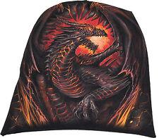 Spiral Direct DRAGON FURNACE Beanie Beanies/Dragon/Flames/Wings/Rock/Hat/Biker