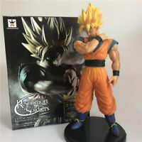 Anime Dragon Ball Z Goku Super SaiYan Awakening Action Figures Collectible Toy
