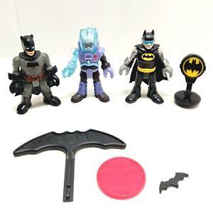 Imaginext DC Super Friends Action Figures x 3 HASBRO