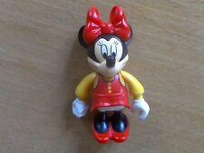1 x Lego Fabuland Figur Minnie Mouse Kleid Schleife Schuhe rot Bluse gelb Disney