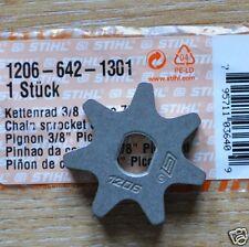 Genuine STIHL Piñón E180C HTE60 HT-KM HT100 HT101 HT70 HT75 1206 642 1301