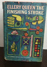 Ellery Queen The Finishing Stroke Mystery Book