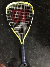 Wilson Raquetball Racquet Crushing Power Xpress Titanium Xs 3 7/8 Yellow