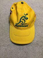 Australia Wallabies Hat Cap 2001 Australia Vs South Africa Subiaco Oval Vintage