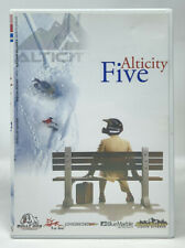 ALTICITY FIVE: DVD — Snowmobiles Sleds Extreme Sports Jumps Stunts RARE OOP HTF