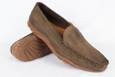 Allen Edmonds Men's Boulder Venetian Loafers Slip On Size 14B Brown Leather