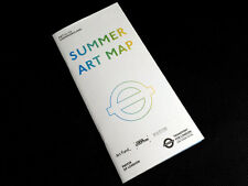 SUMMER ART MAP, Art on the Underground guide 2017, Transport for London.