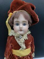 """Antique Dep 154 2 1/4 German Boy Doll 13"""""""