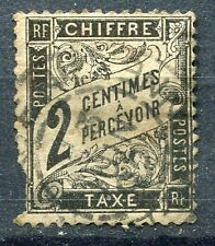 FRANCE TIMBRE TAXE OBLITERE N° 11 TYPE DUVAL