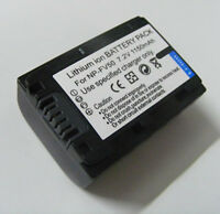 Battery For Sony HDR-CX130 HDR-CX160 HDR-CX190 HDRCX190/B Handycam Camcorder