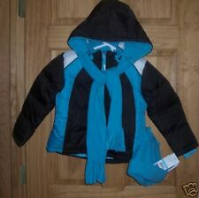 Girls Size 5 Rothschild Active Puffer Jacket Scarf &Hat