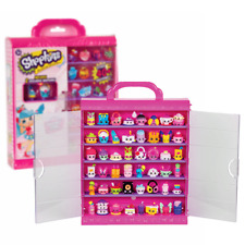 New Shopkins Adorable Store Collector's Case & 2 Exclusive Figures Official